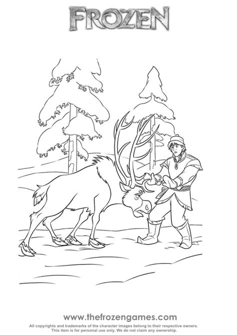 frozen coloring pages baby sven baby olaf and sven coloring pages new calendar template site