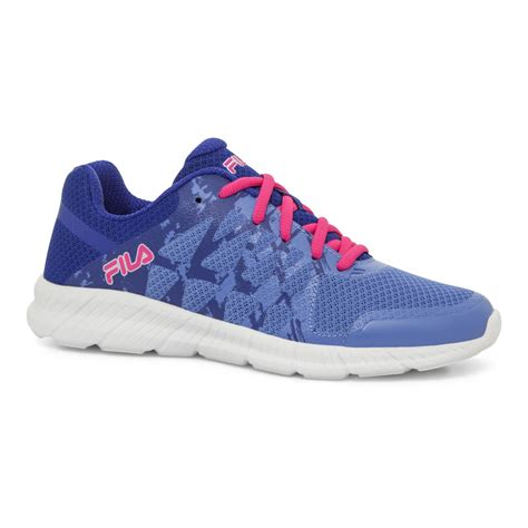 fila s finity athletic shoe blue pink shop your