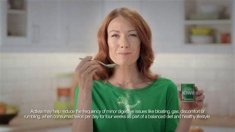activia commercial actress activia challenge tv commercial digestive system issues