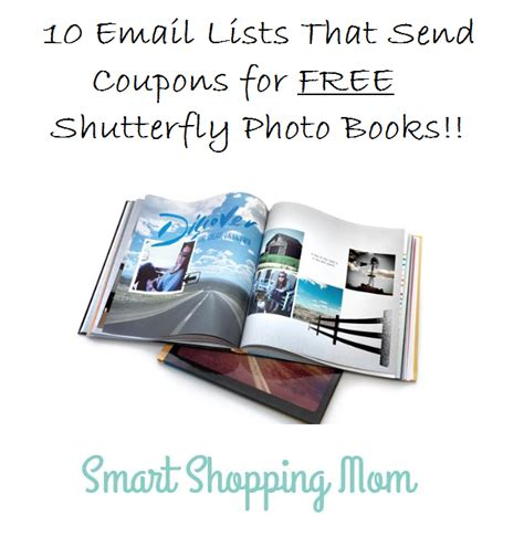 s end books smart shopping mom10 email lists that send coupons for