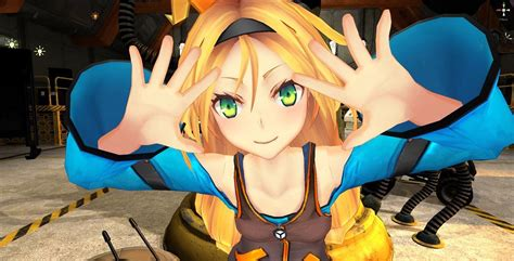 anime game unity game engine obtains anime mascot named unity chan