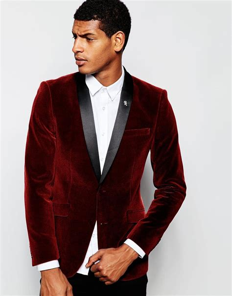 Burgundy And Gold Prom Suit Dress Yy