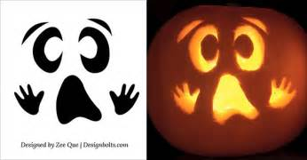 ghost pumpkin template scary ghost pumpkin carving templates www pixshark