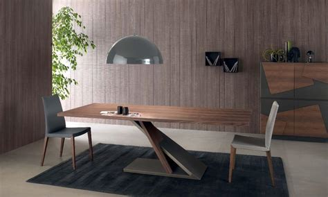 tavoli per cucina in legno tavolo design in metallo impiallacciato per cucina