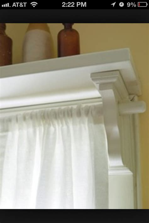 shelf with curtain rod shelf above curtain rod for the home pinterest