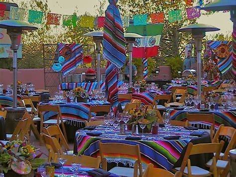 mexican themed events mexican fiesta table decorations car interior design