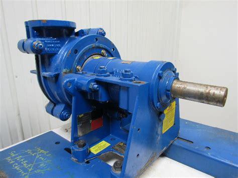 warman  dah metal lined centrifugal slurry pump