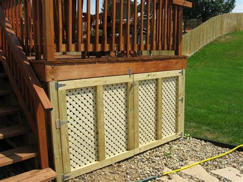 Deck Storage Shed by Deck Storage Drawer Pictures