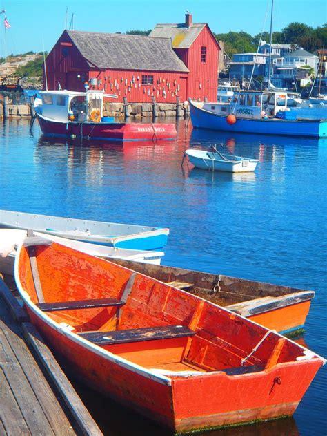 orange boat 1000 images about rockport massachusetts on pinterest
