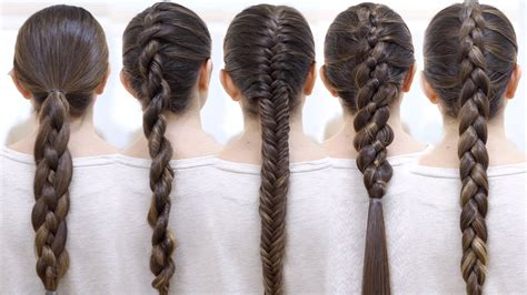 How To Do Braids Hairstyles by How To Braid Your Hair 6 Braid For Beginners