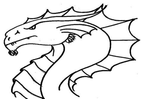 chinese dragon head coloring page pages grig3 org