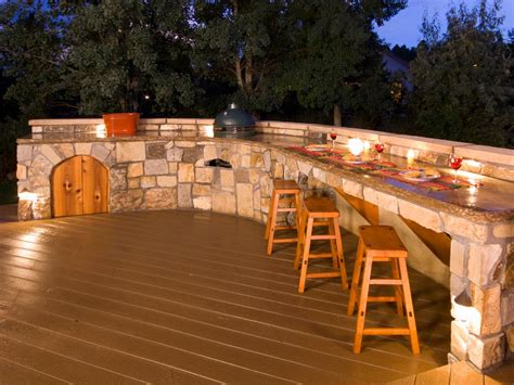 Kitchen Island With Seating For 3 by Outdoor Bars Options And Ideas Hgtv