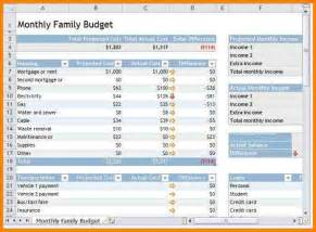 simple monthly household budget template 6 monthly household budget template monthly bills template