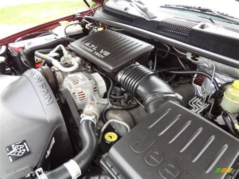 Jeep V8 Engine 2000 Jeep Grand Laredo 4 7 Liter Sohc 16 Valve V8