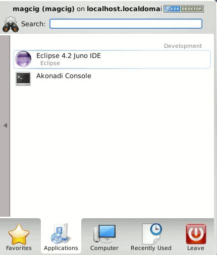 tutorial eclipse linux how to install eclipse 4 6 standard on opensuse 13 x kde