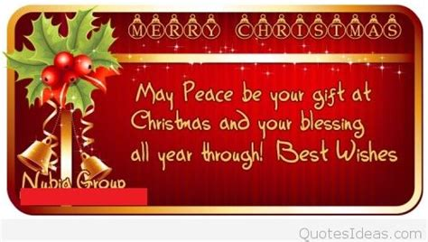 quote merry christmas blessing