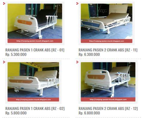 Ranjang Pasien Onemed ranjang pasien manual rpm ranjang pasien murah tempat