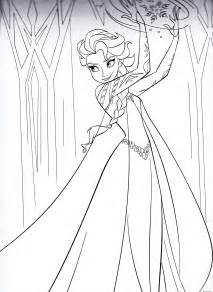 elsa frozen coloring pages free coloring pages of easter elsa