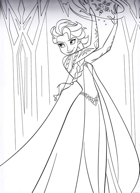 coloring pages elsa free coloring pages of easter elsa