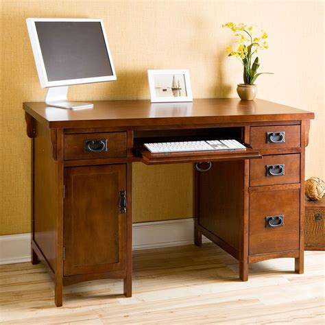 Mission Style Computer Desks Southern Enterprises Mission Computer Desk Desks At