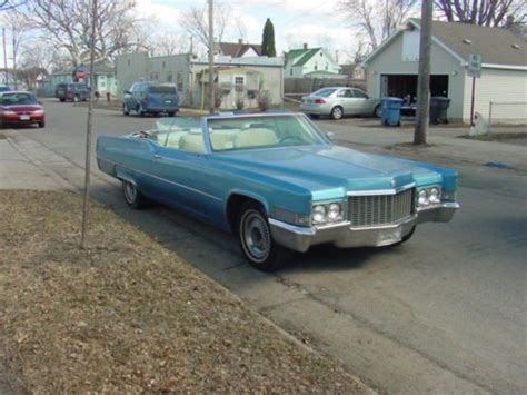 1970 Cadillac 2 Door by Sell Used 1970 Cadillac Base Convertible 2 Door In Minneapolis Minnesota United States