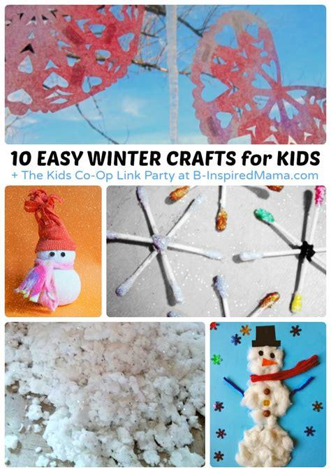 easy winter crafts for easy winter crafts for the co op link