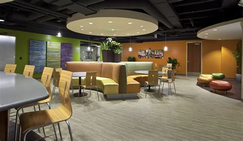 office lounge horn partners architecture retail office