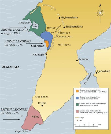 battle of gallipoli map 1915 gallipoli milton heritage society
