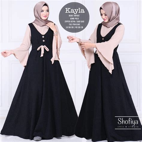 Supplier Maryam Dres By Shofiya supplier baju muslim terbaru