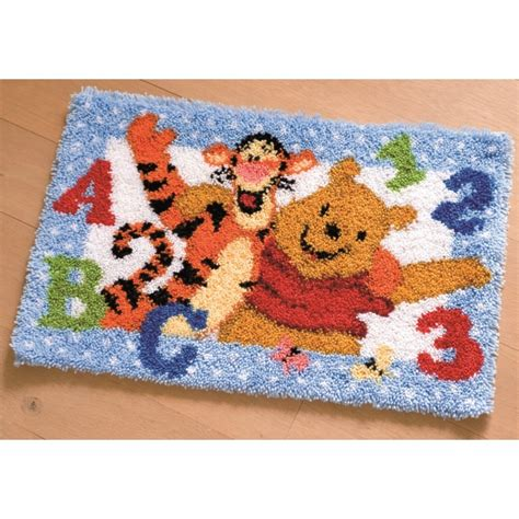 Latch Hook Rug Kits Disney by Pooh And Tigger Rug Latch Hook Vervaco Pn 0143944