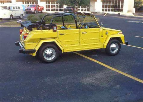 classic volkswagen thing vw thing original paint