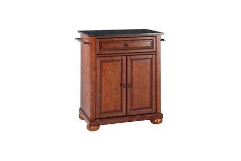 crosley alexandria solid granite top portable kitchen alexandria solid black granite top portable kitchen island