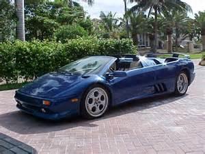 1998 Lamborghini Diablo Detail On 1998 Lamborghini Diablo Vt Roadster
