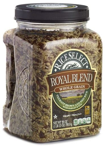 whole grain 5 blend rice rice select royal blend whole grain 28 oz jars pack of 4