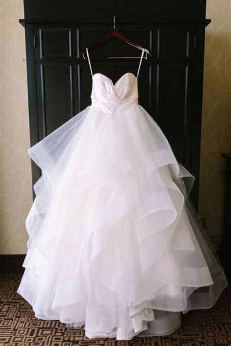 Ruched Draped Skirt 38 Stunning Layered Tulle Wedding Dresses Happywedd Com
