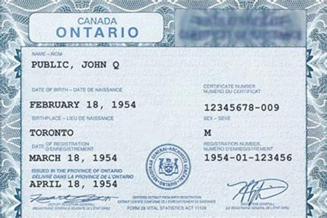 Canadian Marriage Certificate Records Dual Citizenship