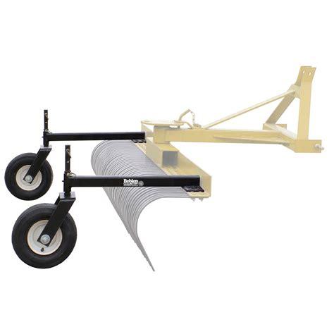 king kutter landscape rake wheel kit beatiful landscape