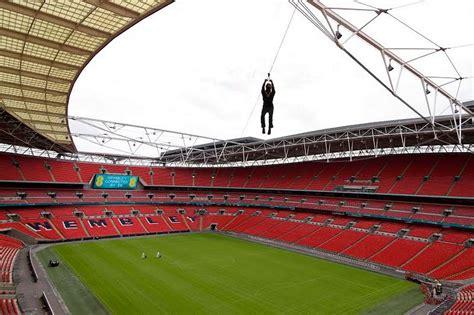 wembley stadium zip wire experience get west london