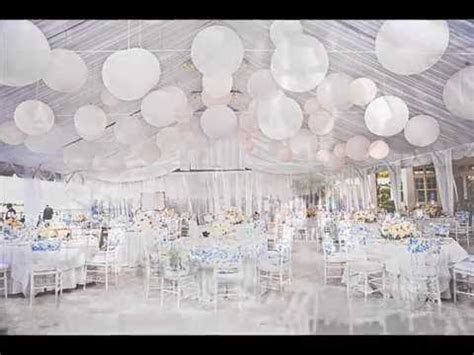 diy white out wedding theme its a white wedding