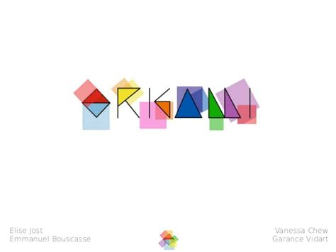 Origami Clothing Brand - visual identity for origami a fictional eco clothing store