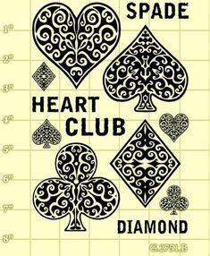 diamond club tattoo on geometric tattoos seed of and