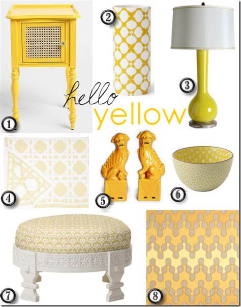 home decor yellow trend mode artist on 2012 friday finds decorating with