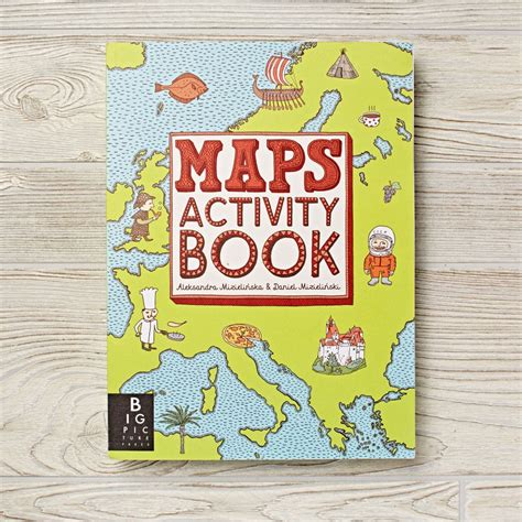 maps activity book kids coloring books activity books the land of nod