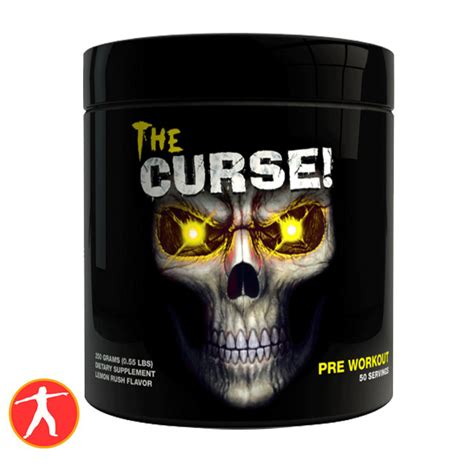 New Stock The Curse Lemon 50 Serving Pre Workout Cobra Labs 1 the curse 50 l蘯ァn d 249 ng pre workout t艫ng s盻ゥc m蘯 nh