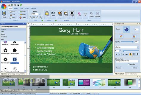 Business Card Studio Deluxe summitsoft business card studio deluxe free