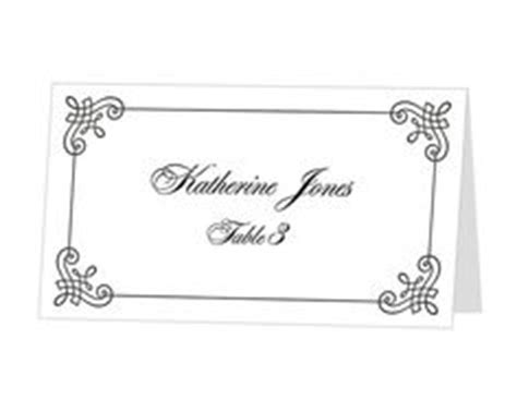 Avery Flat Place Card Template by Avery Place Card Template Instant Card