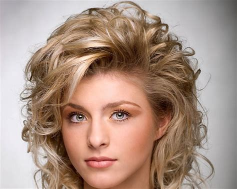 shoulder length layered curly haircuts with front and back pictures medium length pictures of permed blonde hair long hairstyles