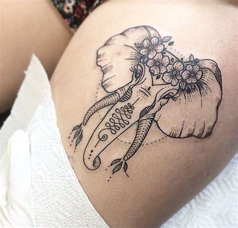 henna words tattoo 25 best ideas about elephant thigh on