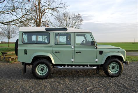vintage land rover defender 110 land rover defender 110 station wagon heritage edition
