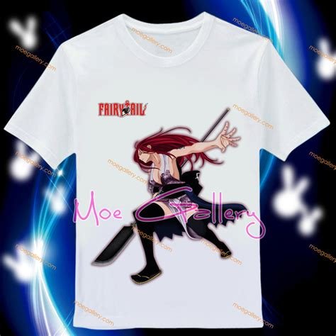 Tshirt Fairytail erza scarlet t shirt 02 t shirt 8